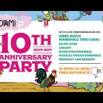 JAM pedals 10th Anniversary PARTY !